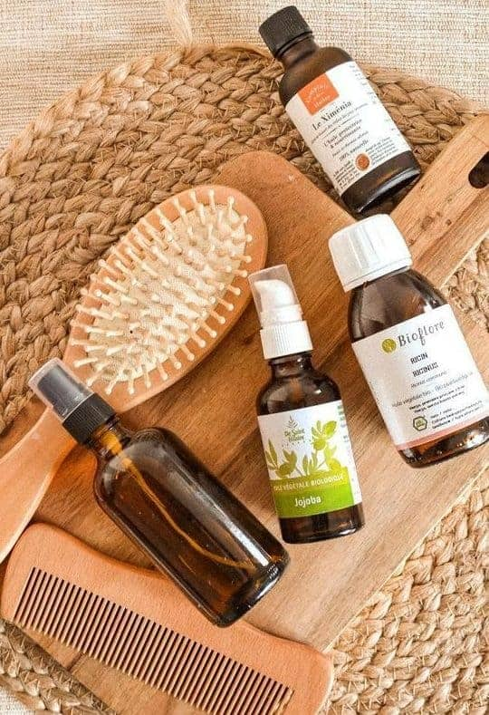 Essential and vegetable oils for hair care