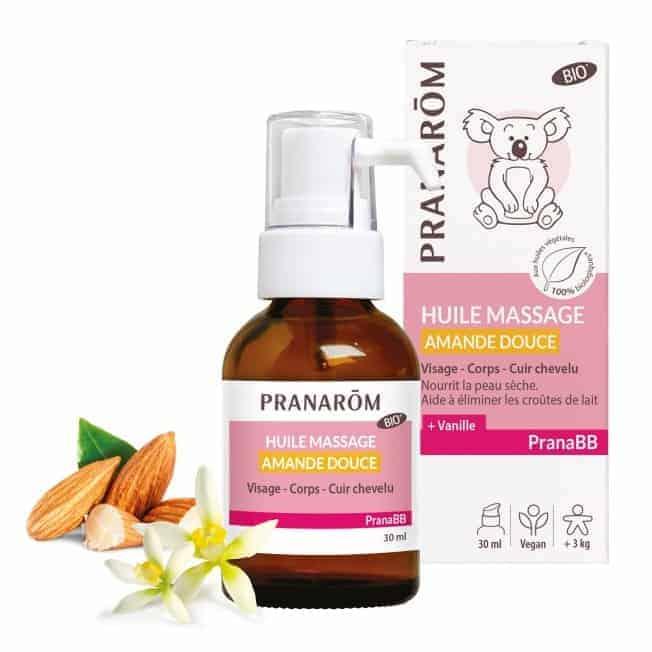 Sweet Almond Massage Oil / Huile de massage amande douce