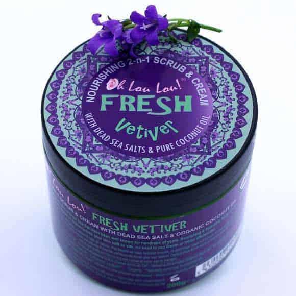 Fresh Vetiver Scrub / Gommage vétiver bio