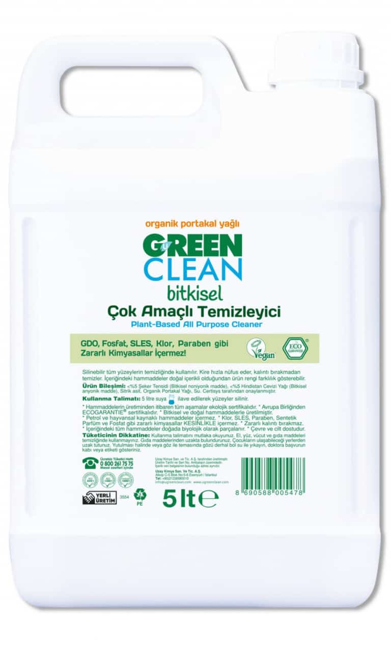 Orange Plant-Based All Purpose Cleaner