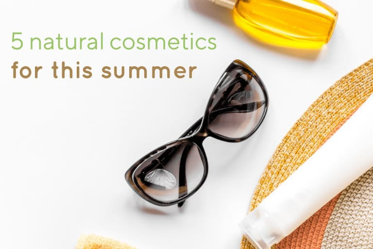 5 must-have natural cosmetics for this summer