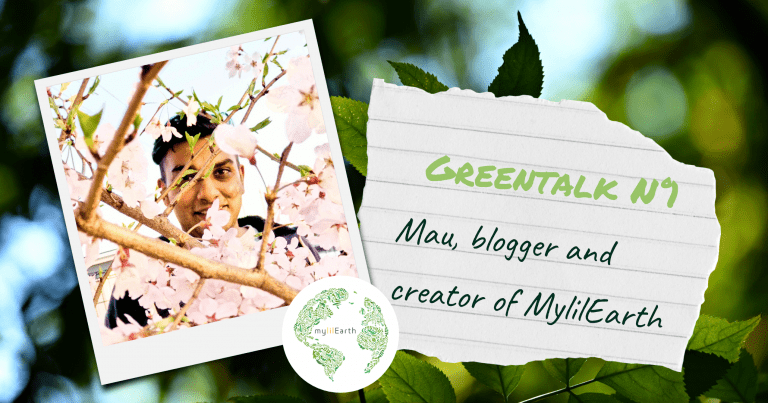 Mau from the blog mylilEarth, with his logo